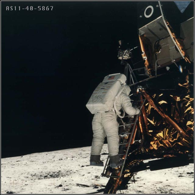 Apollo 11 was the first manned mission to land on the Moon